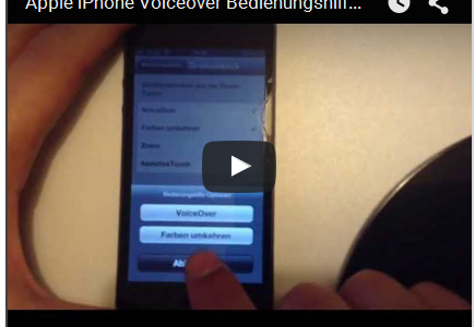Apple VoiceOver