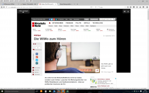 Hörbar - die WiWo zum Hören, Screenshot von http://www.wiwo.de/hoerbar-die-wiwo-zum-hoeren/12365664.html