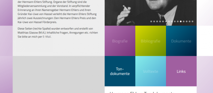 Screenshot: http://www.hermann-ehlers.de/hermann-ehlers-stiftung.html